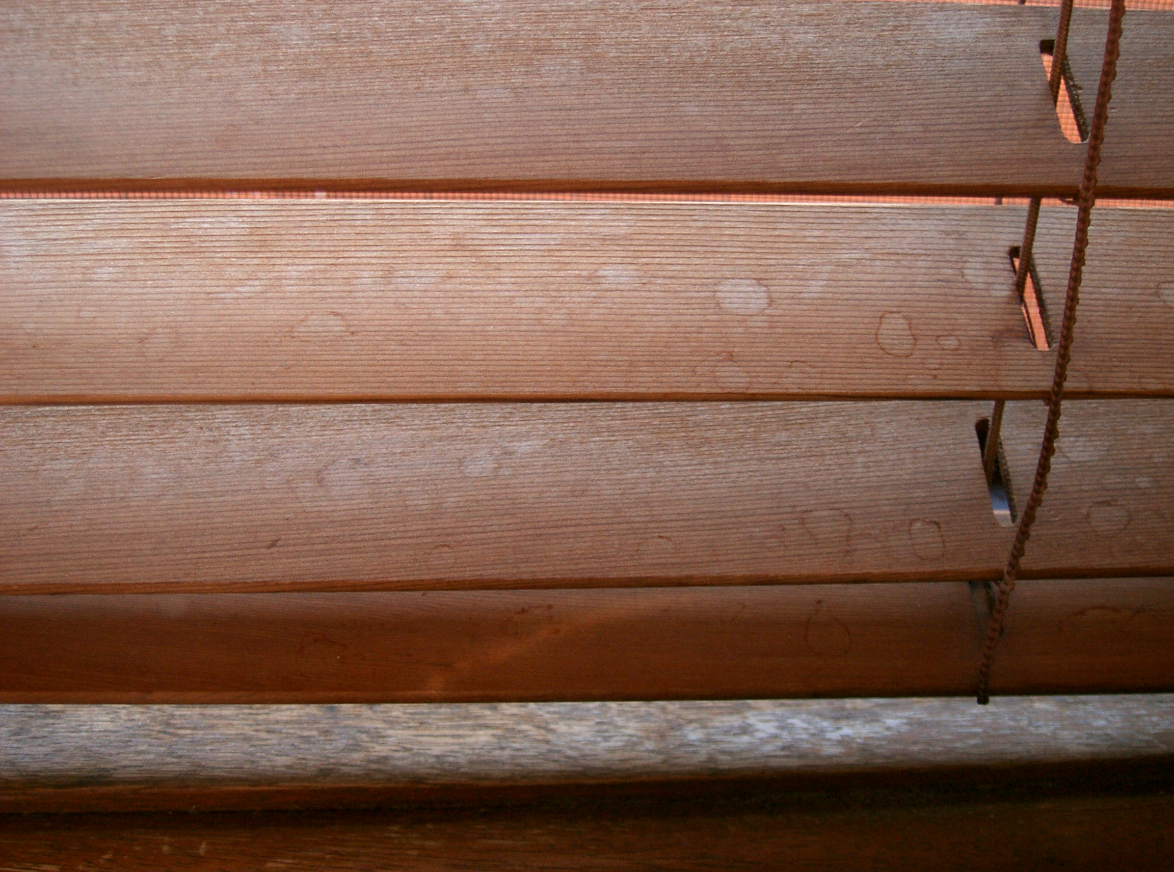 Restoration Of Timber Venetian Blinds Web Compendium